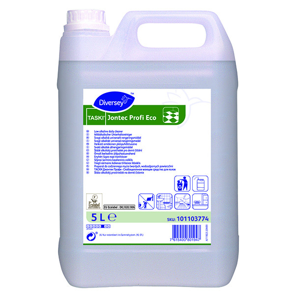 Jontec Profi Eco yleis- ja tehopuhdistusaine 5L