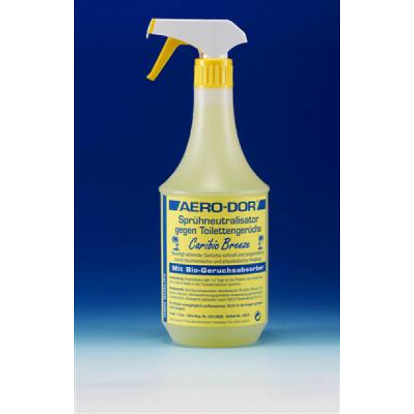 Clean-Air ilmanraikastinaine Caribic Breeze keltainen 1L