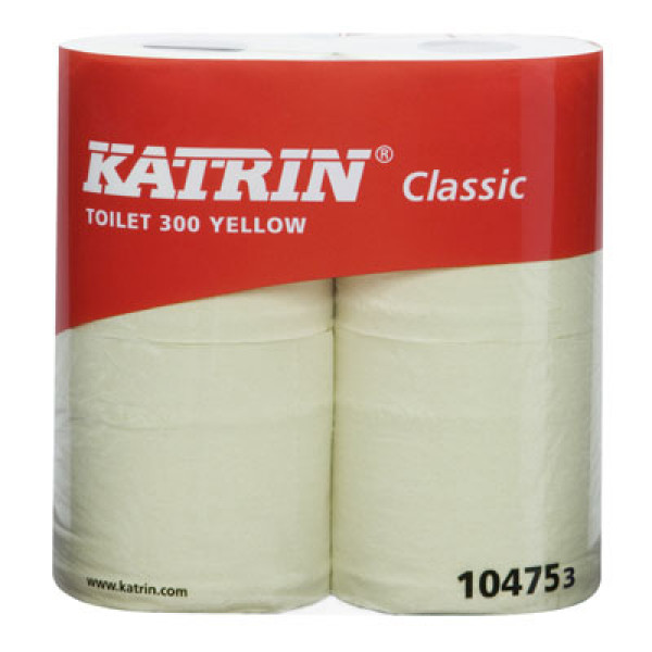 Katrin Classic 300 wc-paperi 2-krs keltainen 38,20m/40rll