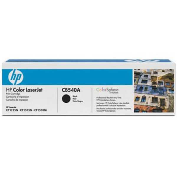 HP CB540A 125A musta värikasetti