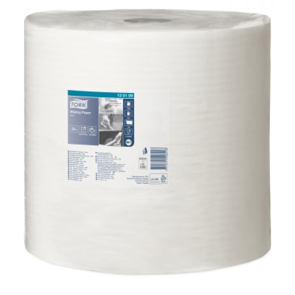 Tork W1 415 paperipyyhe 1-krs valkoinen 34cm/1180m x 1rll