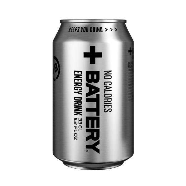 Battery Energy Drink No Calories 24x0,33L (ei sis. pantti)