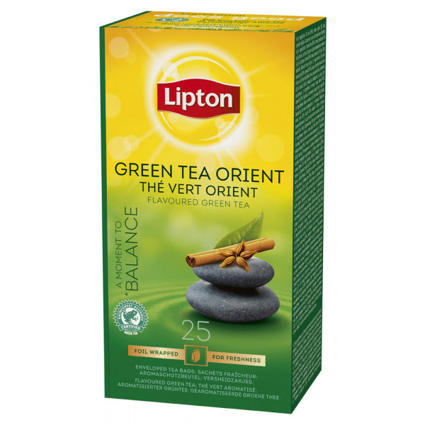 Lipton Vihreä Tee Orient 25kpl