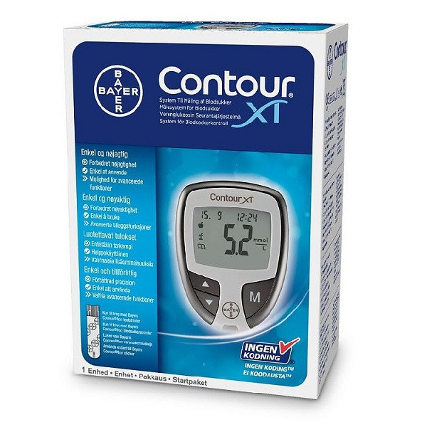Contour® XT verensokerimittarin aloituspakkaus