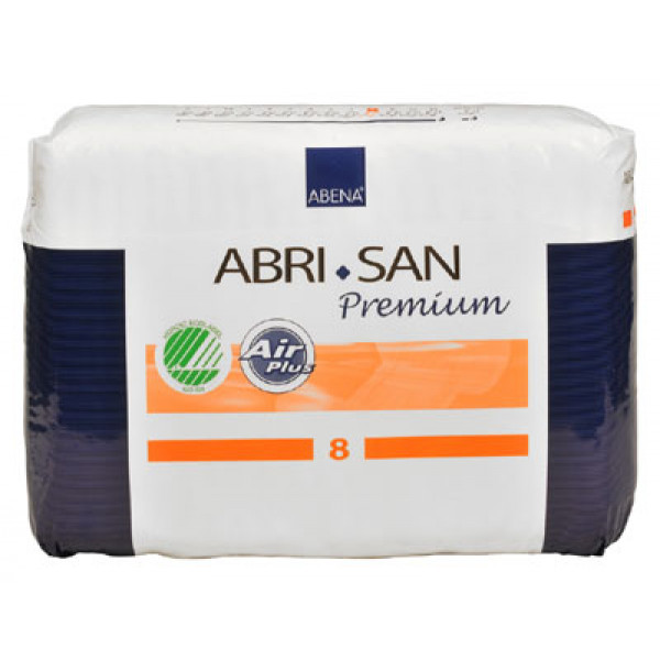 Abri-San Premium no. 8 muotovaippa 84kpl