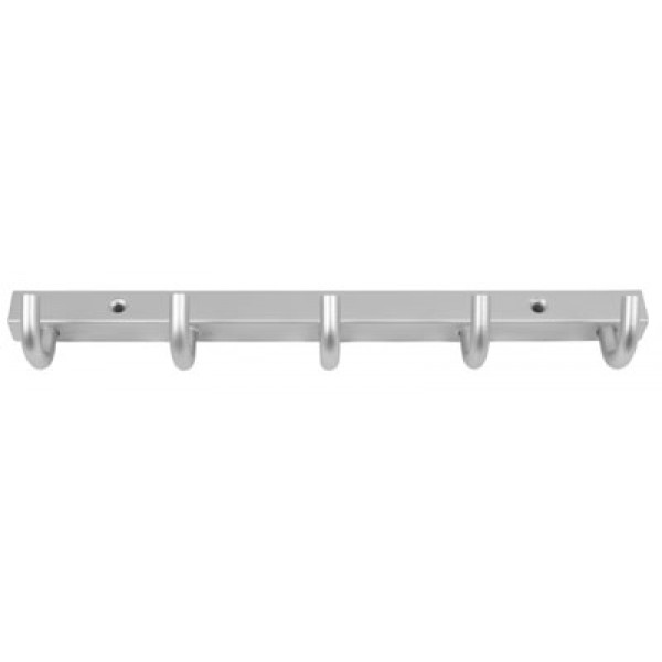 Habo 840 naulakko 5-osainen alumiini/mattakromi