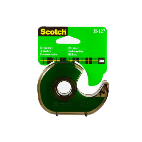 Teippiteline Scotch H127 savunharmaa