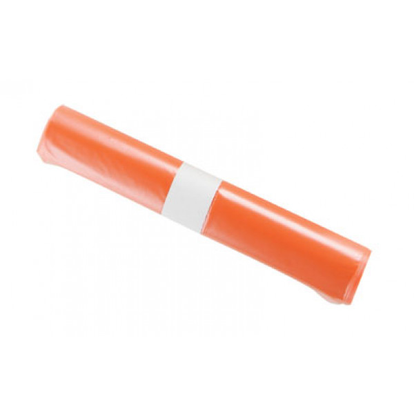 L&T jätesäkki 75L LD oranssi 650x1000/0,05 20kpl