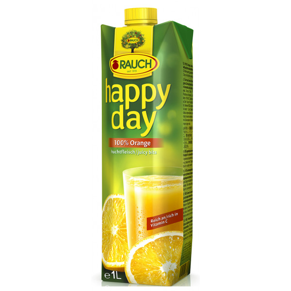 Rauch Happy Day appelsiinimehu 1L