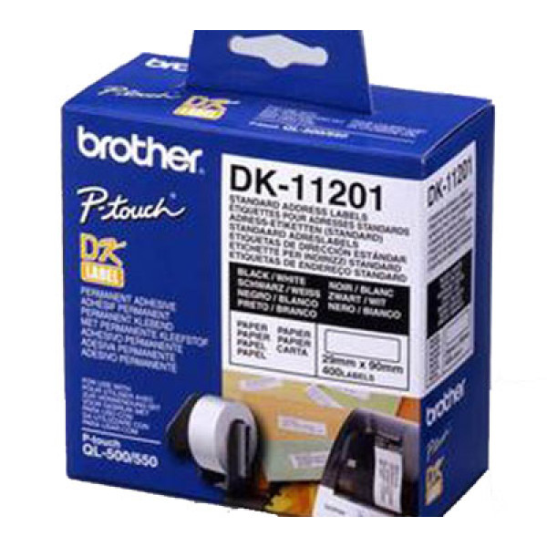 Osoitetarrarulla Brother DK-11201 29x90mm 400kpl