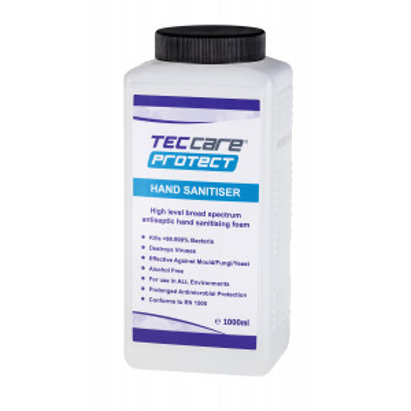 TECcare® Protect alkoholiton käsiendesinfiointivaahto 1000ml