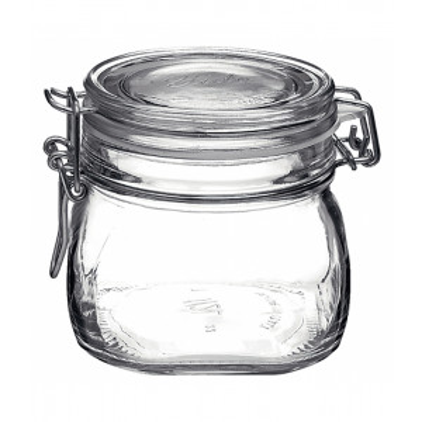 Fido säilöntäpurkki lasia 50cl kirkas