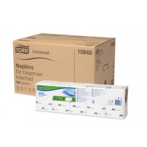 Tork N4 Xpressnap® annostelijaliina valkoinen 1/4 1-krs 1125kpl