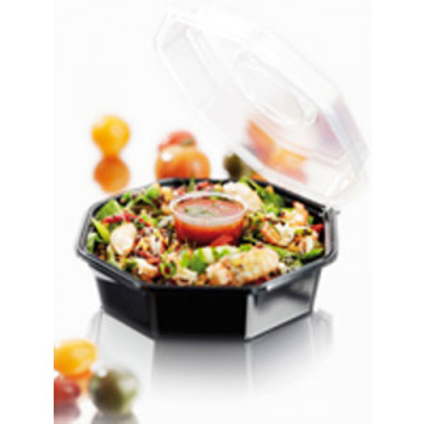Duni Octaview salaattirasia 950/90ml 240kpl