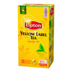 Lipton Yellow Label tee 25kpl