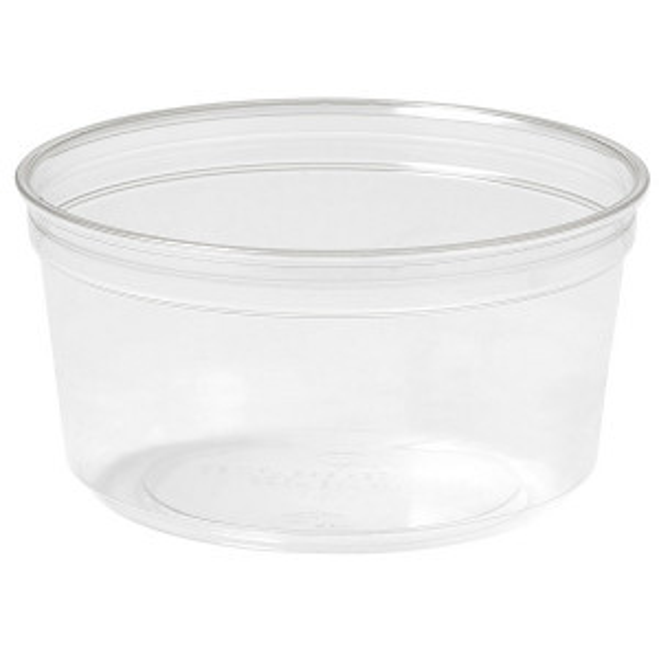 Duni ecoecho® ateriarasia Crystal Deli 35kpl rPET, 116x116x61mm 375ml
