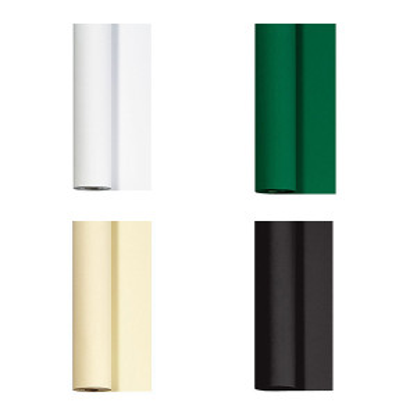 Dunicel® pöytäliinarulla 1,18x25m eri värejä