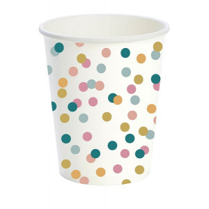 Duni Bio kartonkimuki Dream Dots 24cl 200kpl