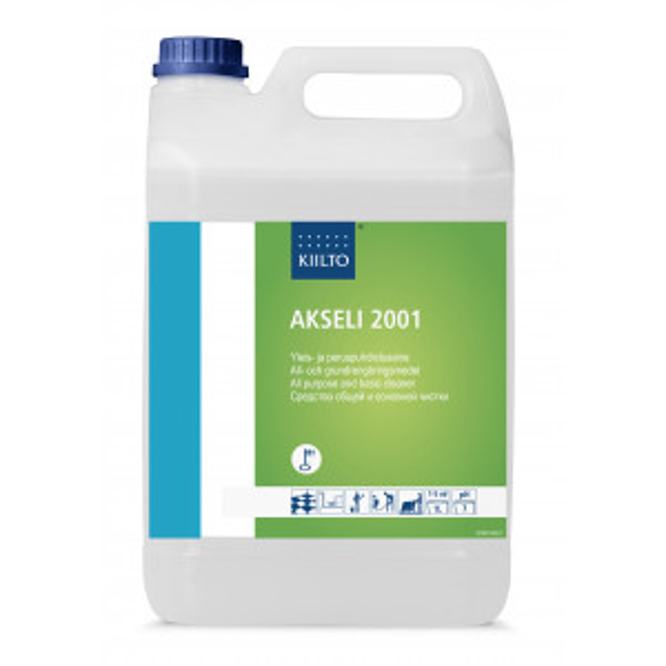 Kiilto Akseli 2001 yleis- ja peruspuhdistusaine 5L