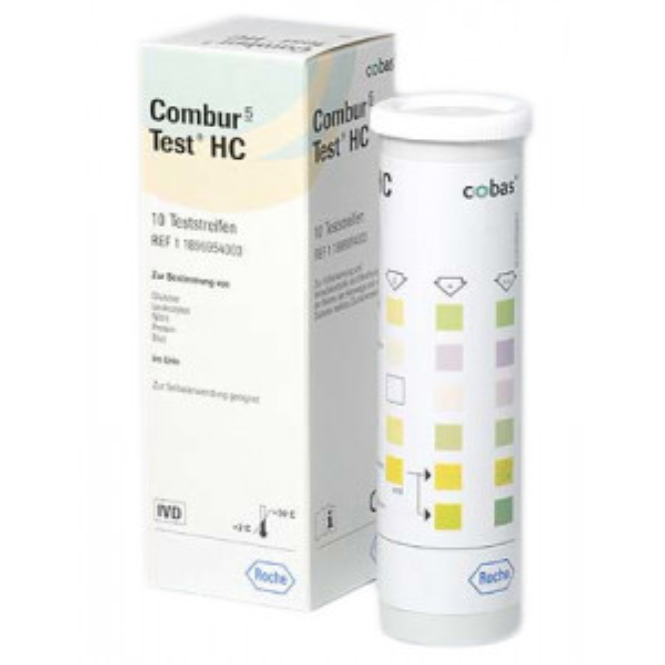 Combur5 Test® virtsatestiliuska 10kpl (pieni pakkaus)