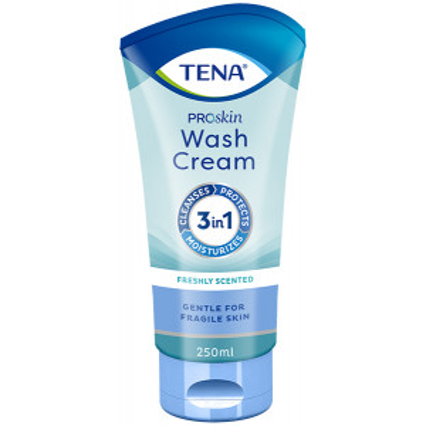 TENA ProSkin Wash Cream pesuvoide 250ml tuubi