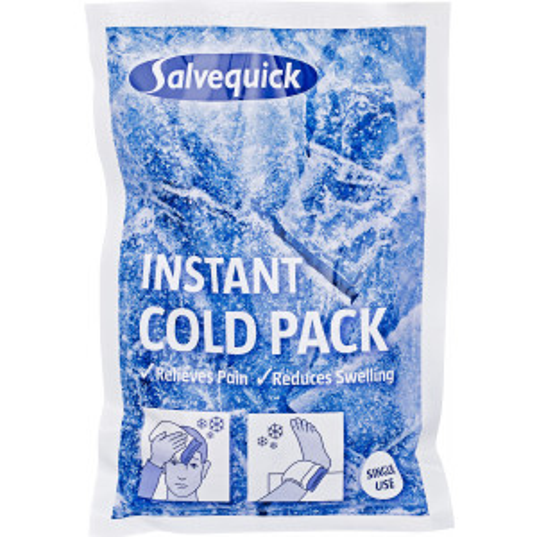Salvequick Instant Cold Pack kylmähaude 6kpl
