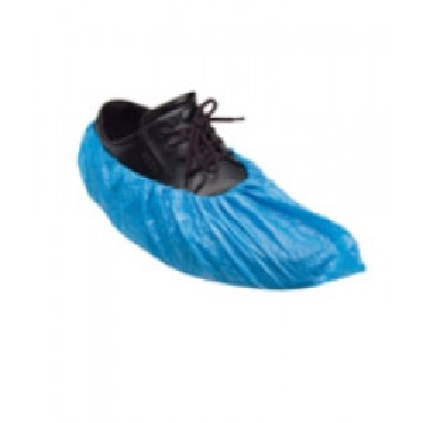 Kengänsuojus sininen PE-muovi 15x41cm 100kpl