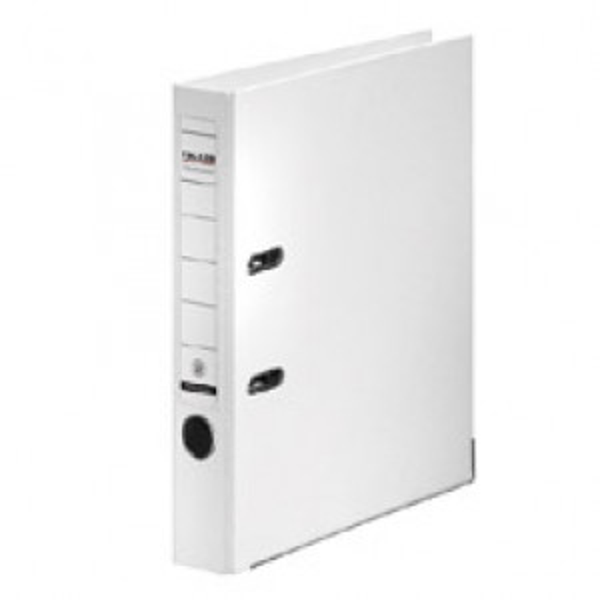 Muovimappi + 500 A4/5cm valkoinen metallivahvikkeella