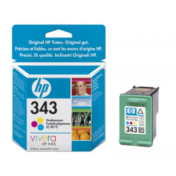 HP no.343 C8766EE 3-väri mustekasetti