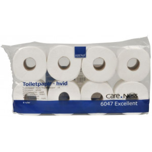 CARE-NESS Excellent wc-paperi 3-krs valkoinen 32,4m/72rll