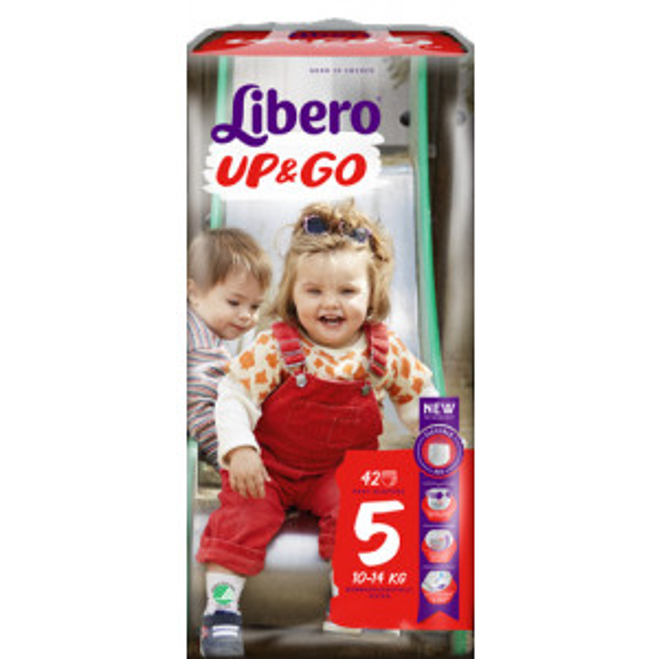 Libero Up&Go housuvaippa koko 5 10-14kg 160kpl