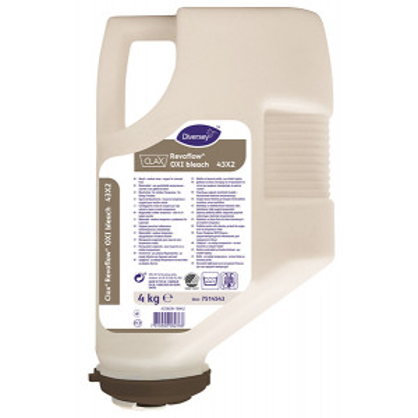 Clax® Revoflow® OXI bleach valkaisu- ja desinfektioaine 4kg