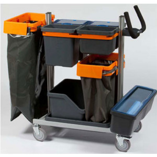 Taski Nano XL siivousvaunu