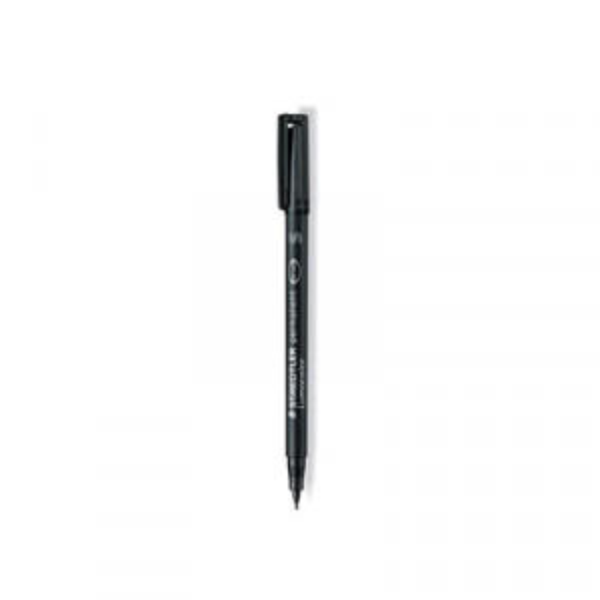 Merkkauskynä Staedler Lumocolor musta S/0,4mm
