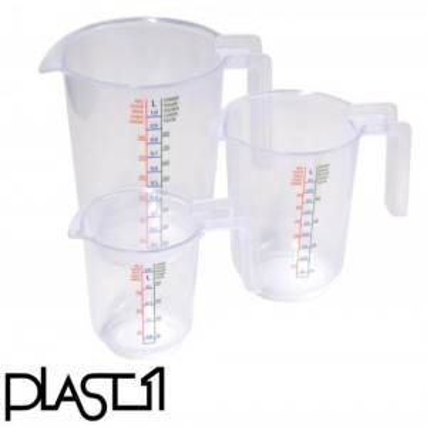 Plast1 Mittakannusarja 3kpl