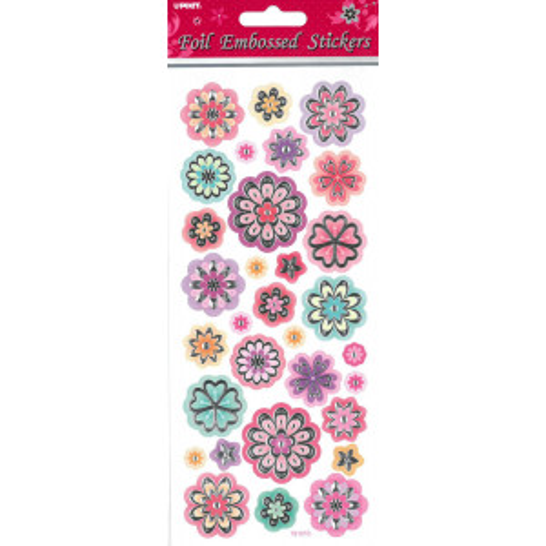 Foliotarra-arkki kukat
