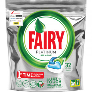 Fairy Platinum All in One konetiskitabletti 32kpl
