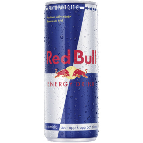Red Bull Energy Drink 24x250ml  (ei sis. panttia)