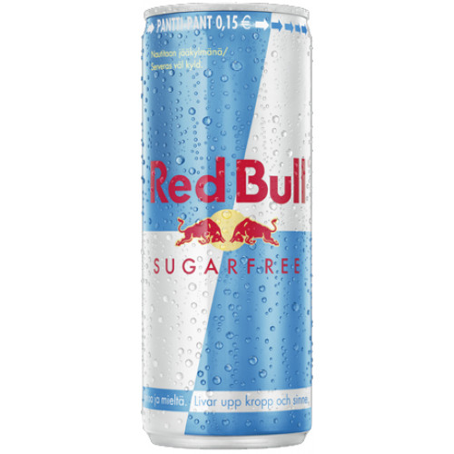 Red Bull Energy Drink sokeriton 24x250ml (ei sis. panttia)