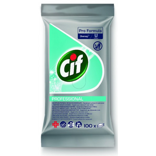 Cif Pro Formula yleispuhdistuspyyhe 100kpl