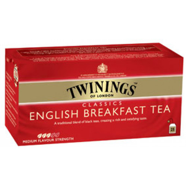 Twinings English Breakfest tee 2g 25kpl