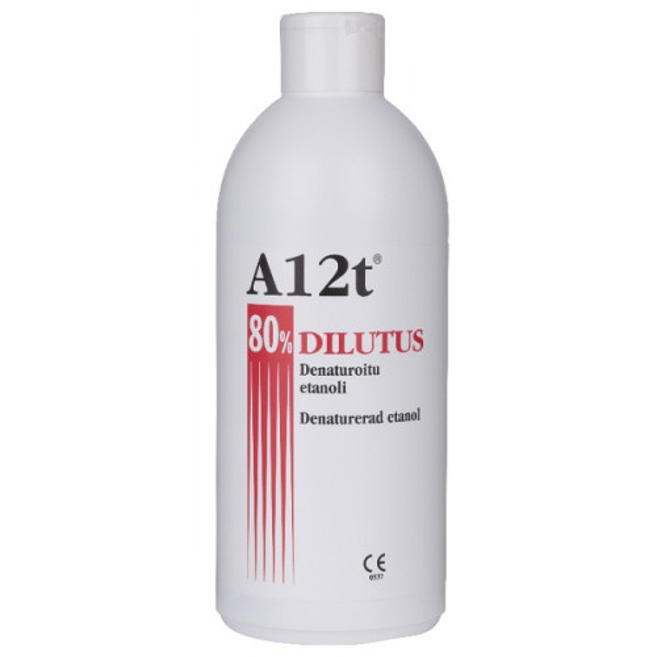 A12T Dilutus 80% desinfektioaine 500ml