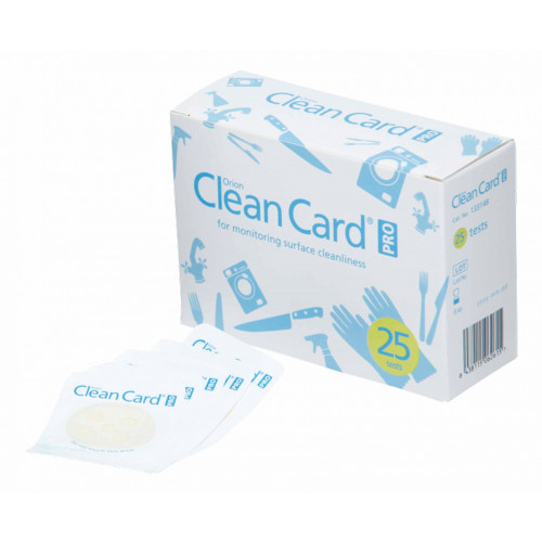 Orion Clean Card Pro pikaproteiinitesti 25KPL