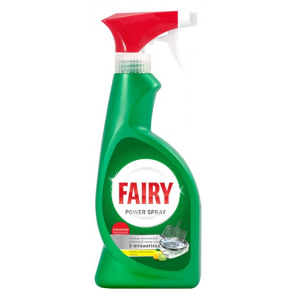 Fairy Power Spray käsitiskiaine 375ml