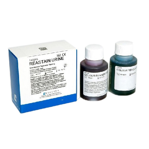 Reastain Urine Kit 2x50ml (50ml Colour Reagent Blue 50ml Colour Reagent Red)