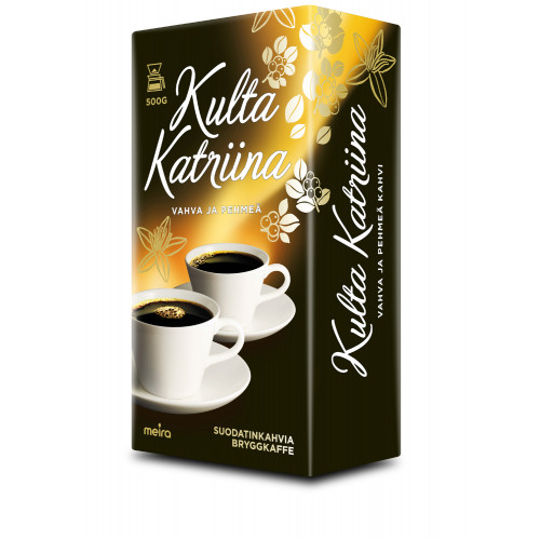 Kulta Katriina Kahvi 500g SJ