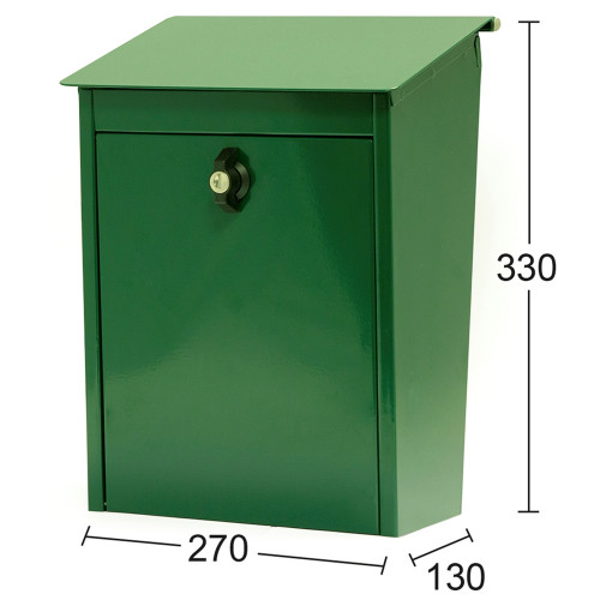 Habo Classic 9441B postilaatikko vihreä