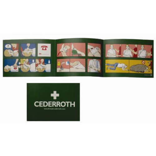 Cederroth hätäensiapuopas