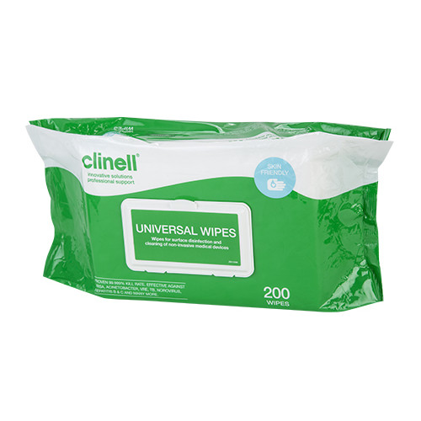 Clinell Universal desinfektiopyyhe 200kpl