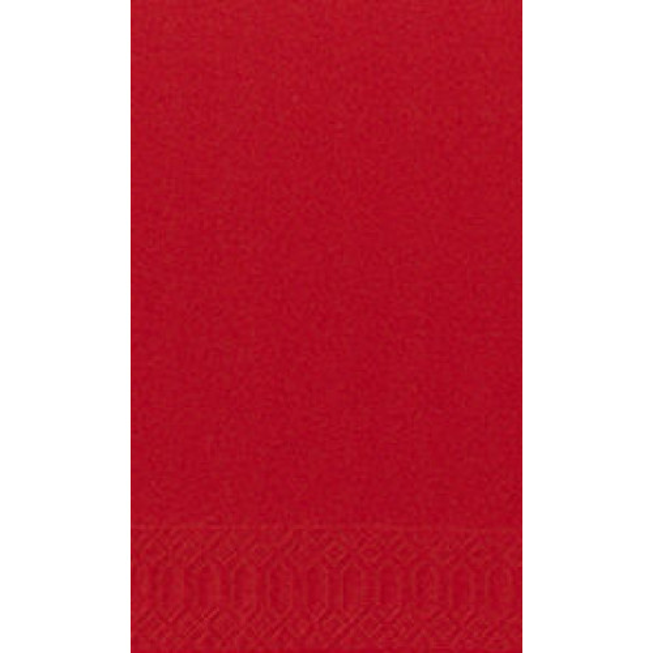Duni lautasliina punainen 40x40cm 1/8 3-krs 250kpl